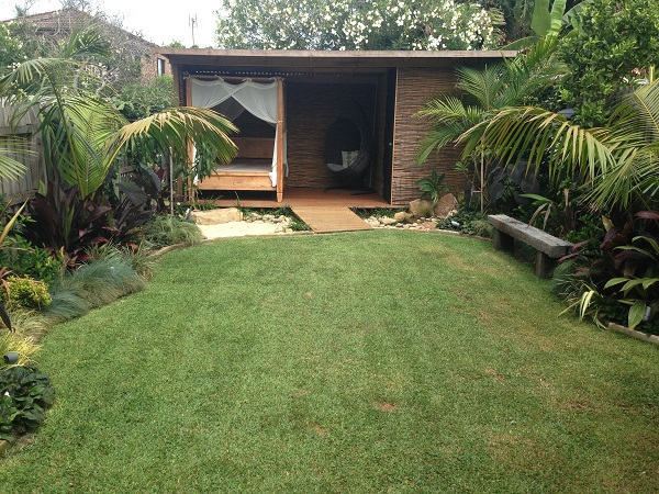 Garden Design Before And After tropical garden design - freshwater/manly - landscapers sydney